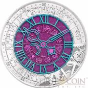 Austria TIME ZEIT series Silver-Niobium coin 25 Euro 2016