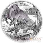 "Austria Cretaceous period - Life on the Ground ""Prehistoric Life"" Series 20 Euro Silver Coin 2014 Proof"
