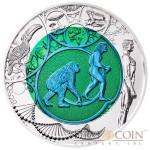 Austria (R) EVOLUTION THE DAWN OF A NEW ERA series Silver-Niobium coin 25 Euro 2014