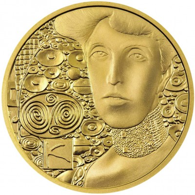 Austria ADELE BLOCH-BAUER by GUSTAV KLIMT series KLIMT AND HIS WOMEN Gold coin €50 Euro Proof 2012