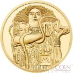 Austria MEDICINE by GUSTAV KLIMT series KLIMT AND HIS WOMEN Gold coin €50 Euro Proof 2015