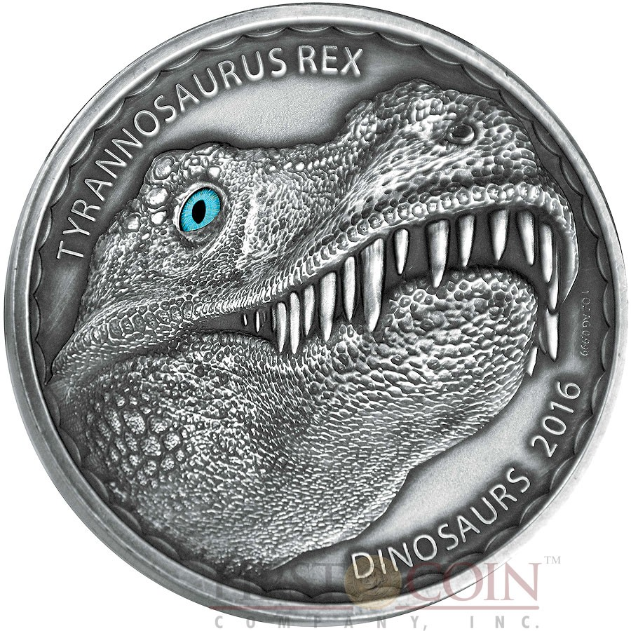 Burkina Faso Dinosaur Tyrannosaurus Rex Series Dinosaurs