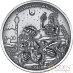 Burkina Faso THE MAGICAL BOOTS series LITTLE MUCK 1500 CFA Francs Silver Coin High Relief 2016 Antique Finish Premium 1.5 oz
