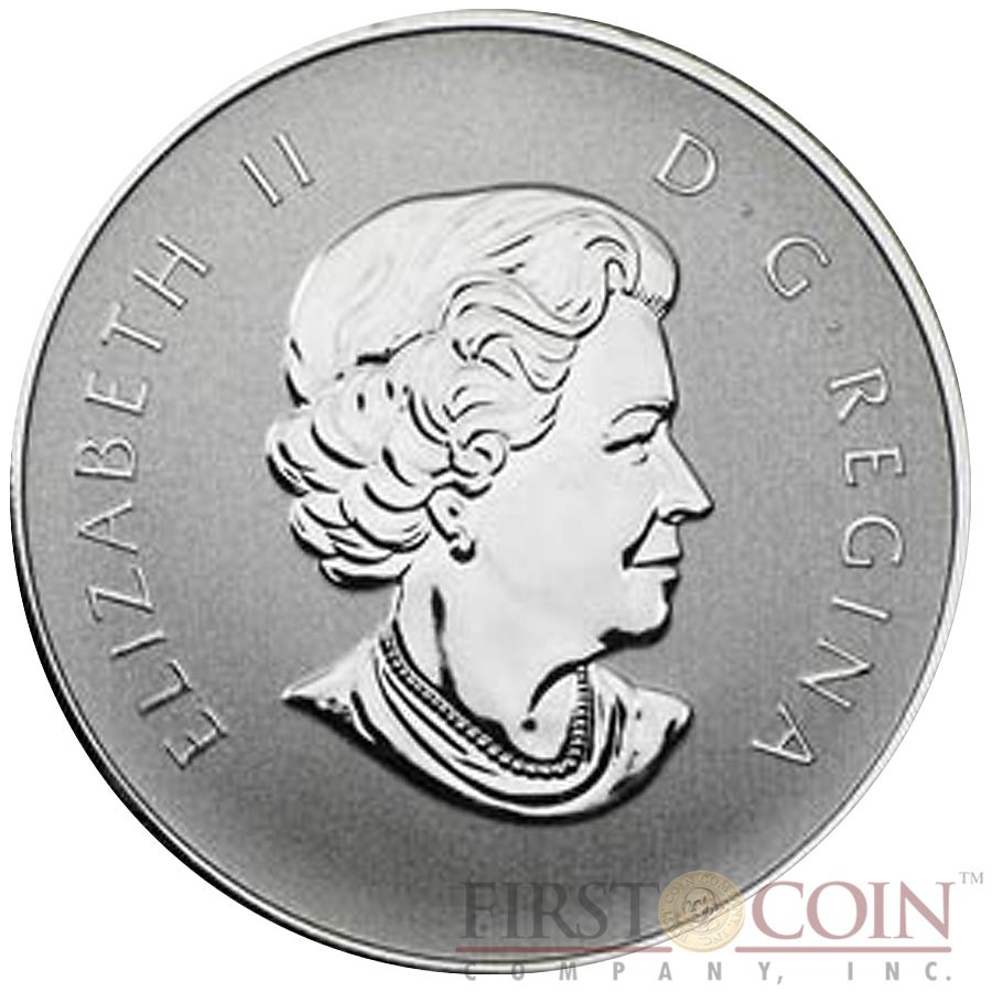 Canada YEAR OF THE DRAGON Lunar series $10 Silver coin 2012