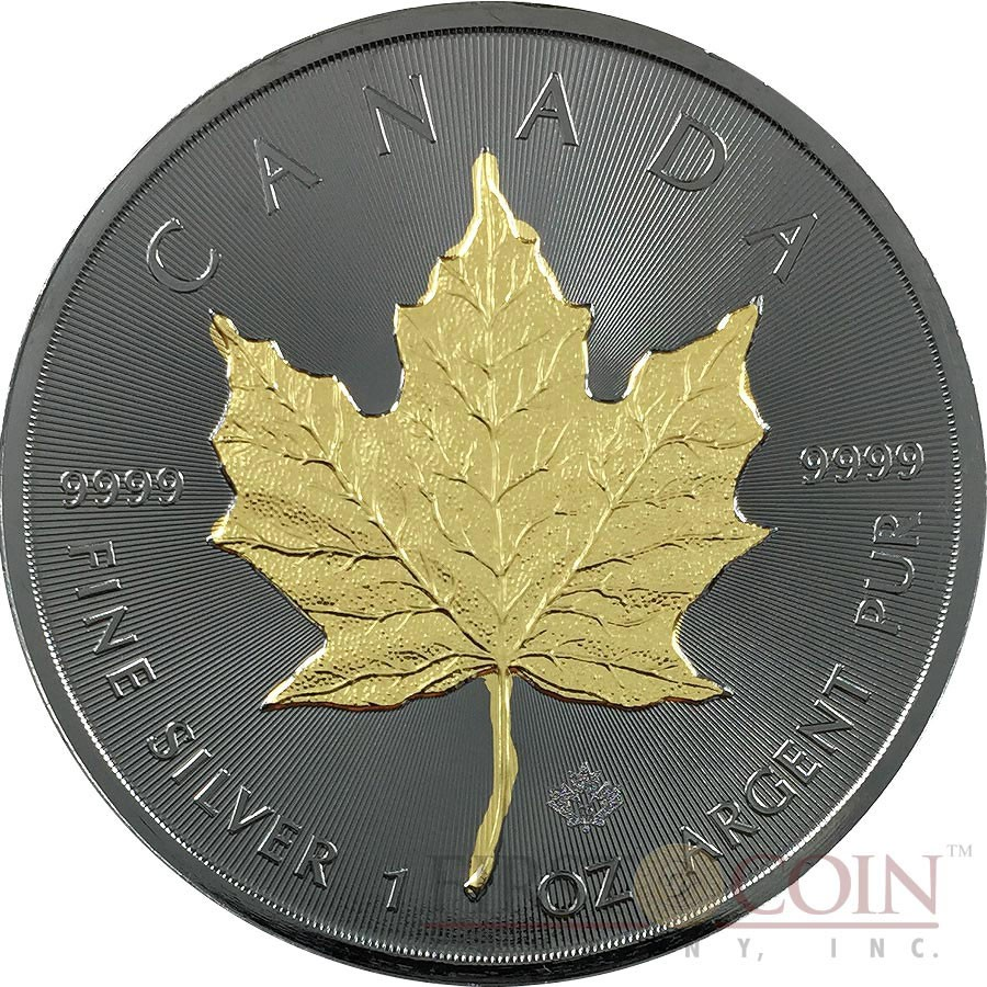 Canada Canadian Maple Leaf Series Blackout Collection 5