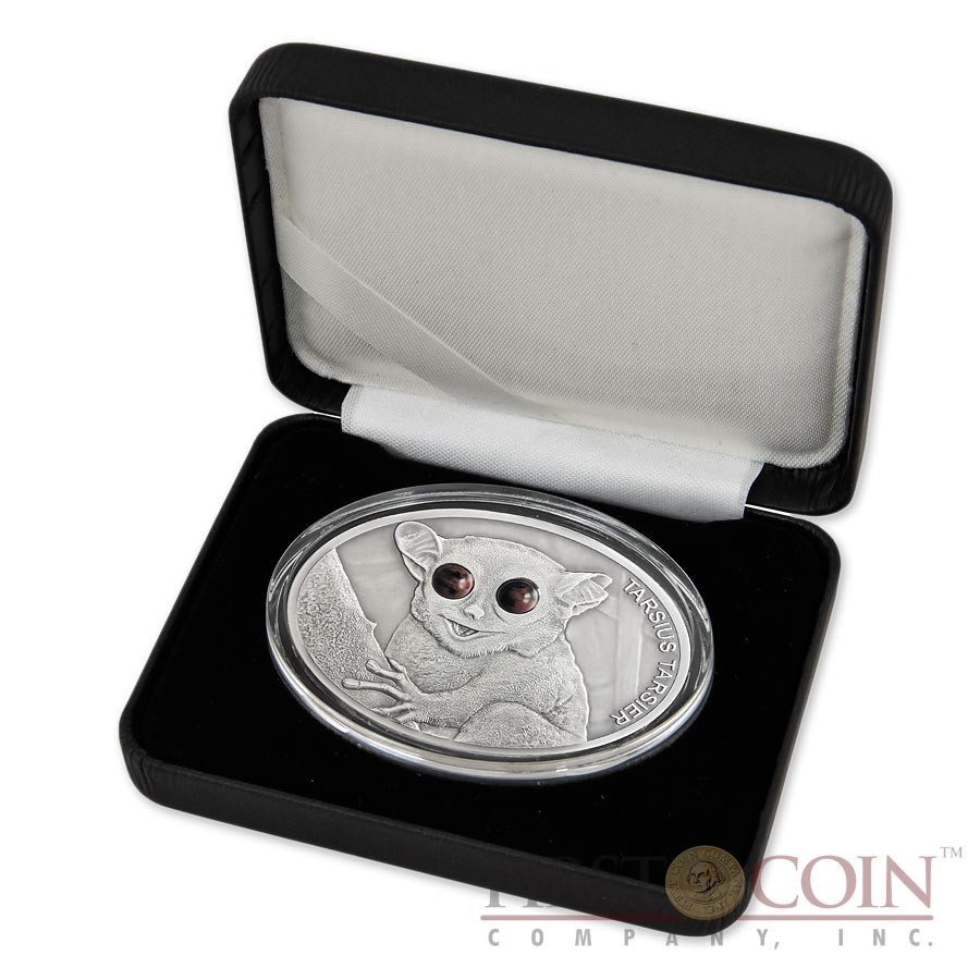 Fiji MAKI series FASCINATING WILDLIFE silver Coin $10 Antique finish 2013 High Relief 1 oz