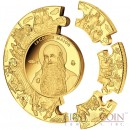 Tokelau APOSTLE JAMES Iacobus Maior PUZZLE COIN $1000 Gold Coin 2014 Proof 1 Kilo Kg / 32.15 oz