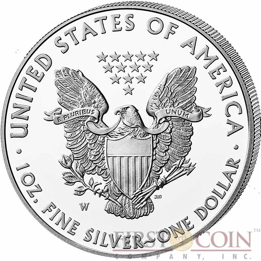 New state quarters 2015 - Usa American Silver Eagle 1 Gilded 2015 Silver Coin 1 Oz