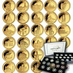 Liberia EUROPEAN COLLECTION series Gold coin set $312 Proof 2008