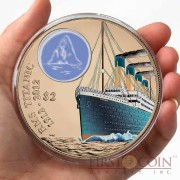 British Virgin Islands Titanic $2 Colored Bronze coin Proof 2012