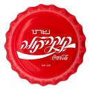 Fiji COCA-COLA ISRAEL LOGO $1 Silver Coin 2020 Bottle Cap Shaped Proof