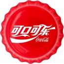 Fiji COCA-COLA CHINESE LOGO $1 Silver Coin 2020 Bottle Cap Shaped Proof