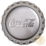 Fiji COCA-COLA $2 Silver Coin 2018 Bottle Cap Shaped Proof 1 oz