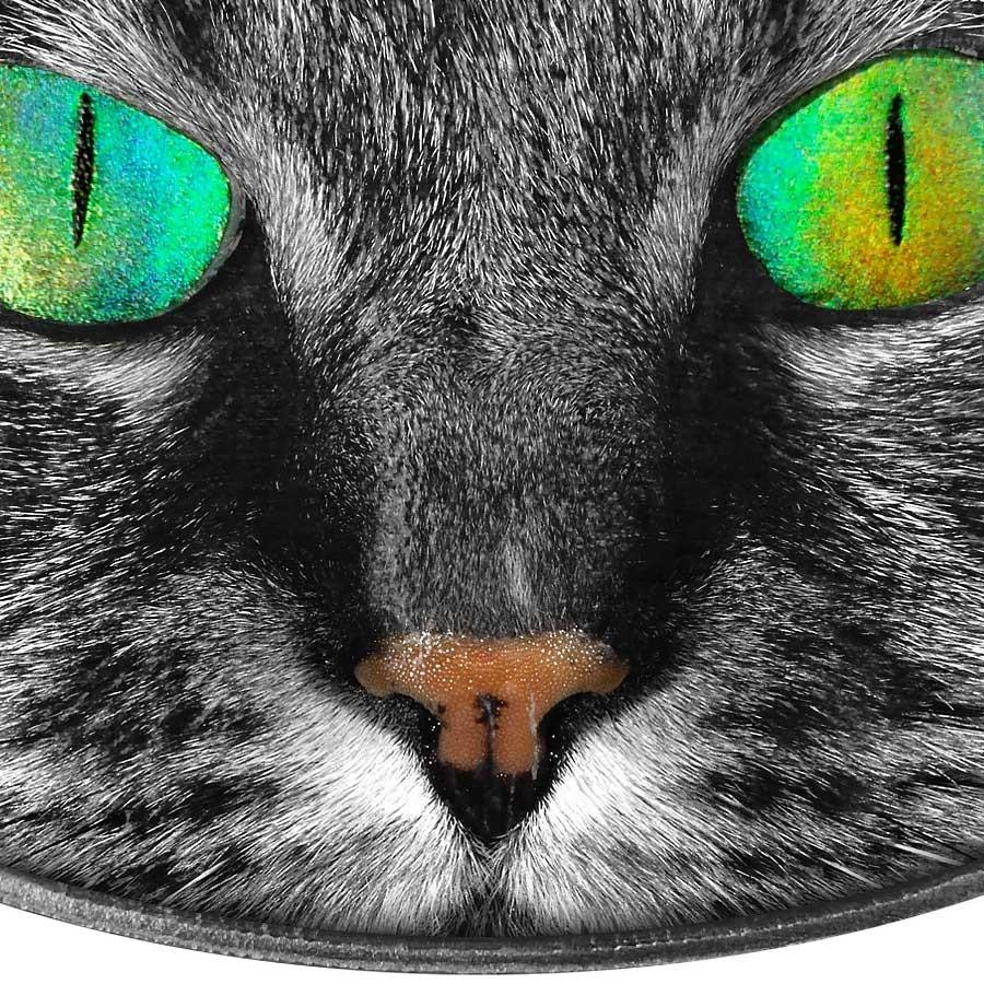 Niue Island Kitty Cat Series Animal Skin 2 Holographic 3d