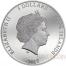 Cook Islands CROCODILE vs JAGUAR series PREDATOR PREY $5 Silver Coin Black palladium plated 2017 Proof 1 oz