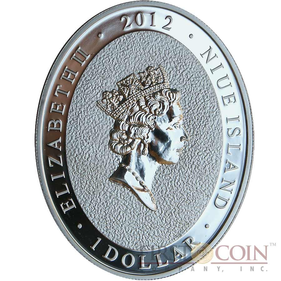 NIUE 1 Dollar 2013 Silver Proof /'Year of the Snake Snakebite/'