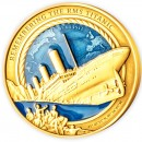 Solomon Islands REMEMBERING RMS TITANIC 35th Years WRECK DISCOVERY $25 Gold Coin 2021 Proof 3 oz