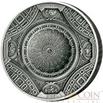 Cook Islands SAINT PETER'S BASILICA IN VATICAN series 4 LAYER MINTING $20 Silver coin 100 g Antique finish 2016 Ultra High Relief Concave shape 3.2 oz