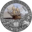 Niue Island VASA series Grand Shipwrecks in History $5 Silver Coin 2021 Antique finish High relief 2 oz