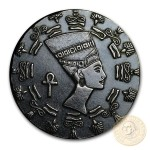 QUEEN NEFERTITI series RELIC Silver Coin-Bar 2020 Antique finish 1/10 oz