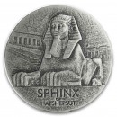Republic of Chad SPHINX series EGYPTIAN RELIC Silver coin 3000 Francs 2019 Antique finish ULTRA THICK 5 oz