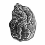 BIGFOOT Silver Coin-Bar 2020 Antique finish 3 oz