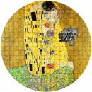 Republic of Cameroon THE KISS by GUSTAV KLIMT series PUZZLE ART 3000 Francs Silver Coin 2020 Antique finish 3 oz