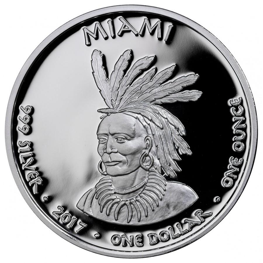 Native American Mint 2015 /& 2016 Sioux Indian Buffalo $1 Silver 1 oz Coins