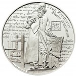 Cook Islands IVAN FYODOROV Fathers of Eastern Slavonic printing Silver Coin $5 Proof 2009