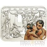Palau CARMEN series FAMOUS GRAND OPERAS $5 Partly colored Silver Coin 2011 Proof