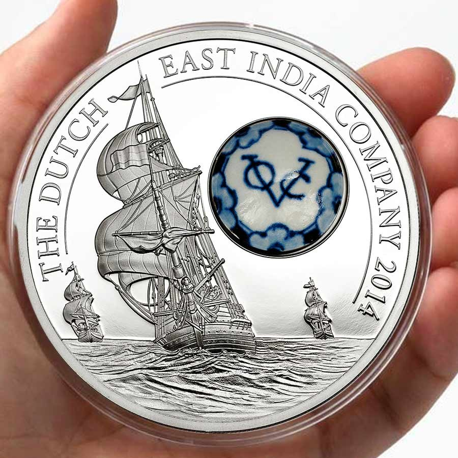 Cook Islands Royal Delft Dutch East India Company 10