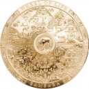 Cook Islands SAMSARA WHEEL OF LIFE series ARCHEOLOGY and SYMBOLISM $20 Silver Coin Antique finish 2019 Ultra High Relief Smartminting Gold plated 3 oz