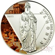 Togo ZENOBIA series GREATEST SHE WARRIORS Silver Coin 500 Francs 2011 Proof
