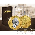 German Empire Wall Street Heritage Series Gold Edition Emperor Wilhelm II 10 Marks Platinum application 1890-1913