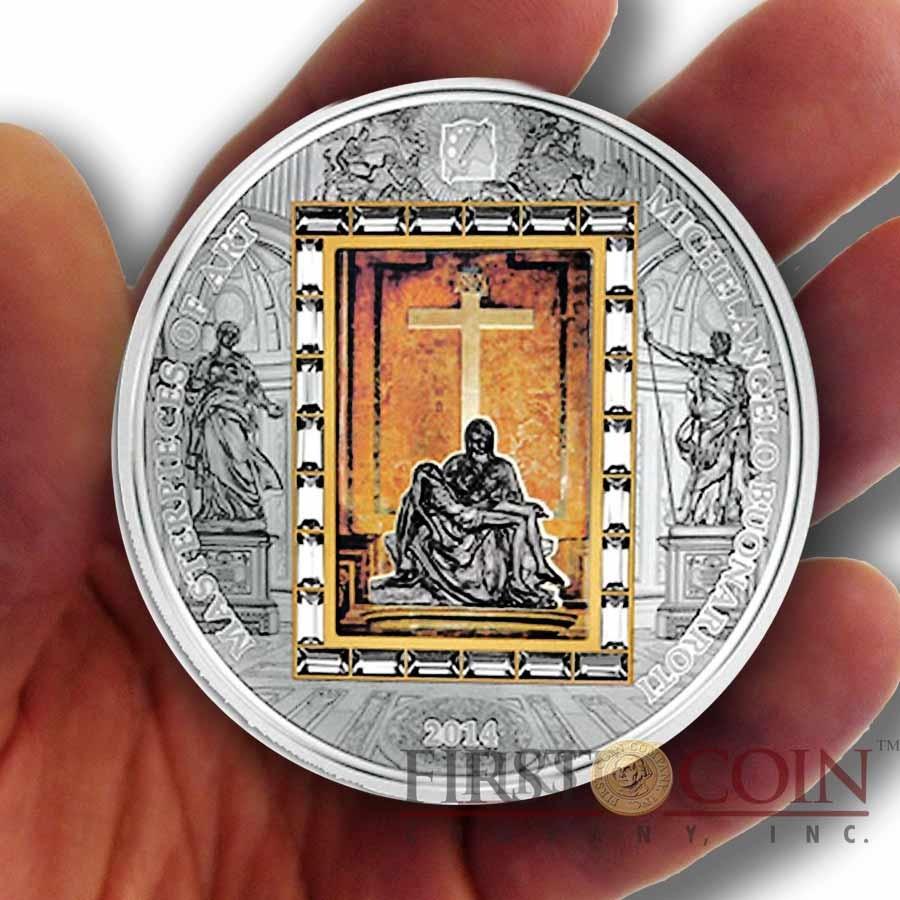 Cook Islands Michelangelo Pieta 20 Premium Edition Of
