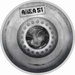 Palau AREA-51 SECRET ALIEN UFO ZONE series GREAT CONSPIRACIES $10 Silver Coin 2020 Proof 2 oz