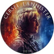 USA GAME OF THRONES II - CERCEI LANNISTER GOT American Silver Eagle 2019 Walking Liberty $1 Silver coin 1 oz