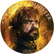 USA GAME OF THRONES II - TYRION LANNISTER GOT American Silver Eagle 2019 Walking Liberty $1 Silver coin 1 oz