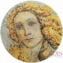 Palau BIRTH OF VENUS Botticelli Italy series GREAT MICROMOSAIC PASSION $20 Silver Coin 2017 Innovative Mosaic Technology Proof 3 oz