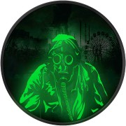 Ukraine CHERNOBYL LIQUIDATORS ₴1 Hryvnia Silver Coin 2019 Glow in the dark 1 oz