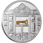Belarus HOUSEWARMING series SLAV'S TRADITIONS 20 Rubles Silver Coin 2008