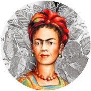 Republic of Cameroon FRIDA KAHLO THE LEGENDARY WOMAN 1000 Francs Silver coin High relief 2019 Proof 1 oz