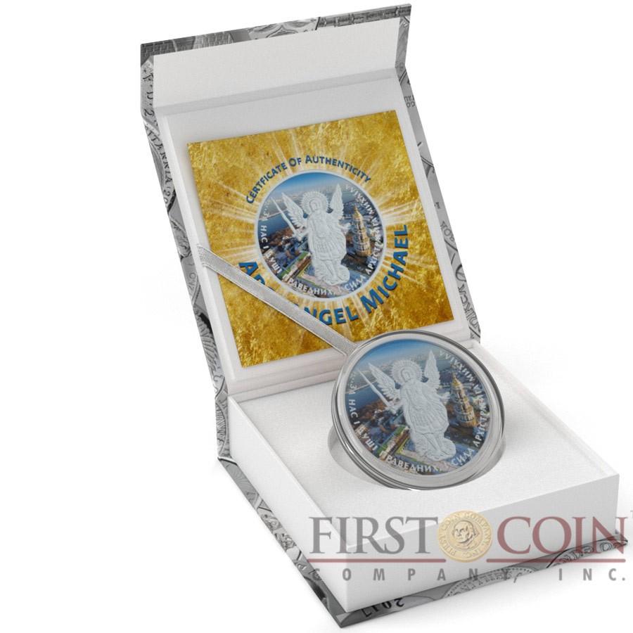 Ukraine KIEV CAPITAL ARCHANGEL MICHAEL series CHRISTIANITY THEMATIC DESIGN ₴1 Hryvnia 2015 Silver Coin 1 oz