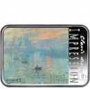 Niue Island IMPRESSION CLAUDE MONET series IMPRESSIONISM - EVANESCENT IMAGES and SOUNDS $1 Silver Coin 2018 Proof