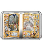 Republic of Cameroon ROTHSCHILD PRAYERBOOK 1000 Francs Silver Coin 2018 Proof Book shaped