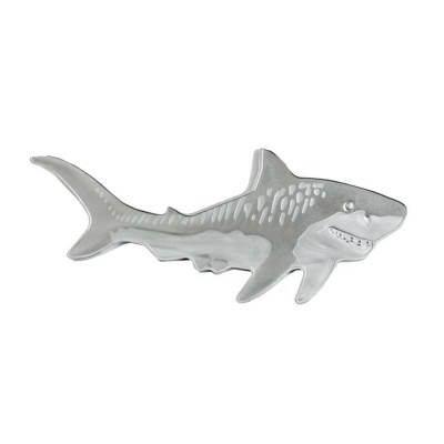 Solomon Islands TIGER SHARK series HUNTERS OF THE DEEP $2 Silver Coin 2020 Shark shaped Proof 1 oz