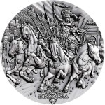 Niue Island BELLONA - GODDESS OF WAR series ROMAN GODS Silver Coin $2 Antique finish 2018 Ultra High Relief 2 oz