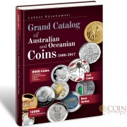 Grand Catalog-Book of Australian and Oceanian Coins 2000 - 2017 Format-A4 Pages-350 Coins-8500 Pictures-12000 ISBN number author Lukasz Rosanowski
