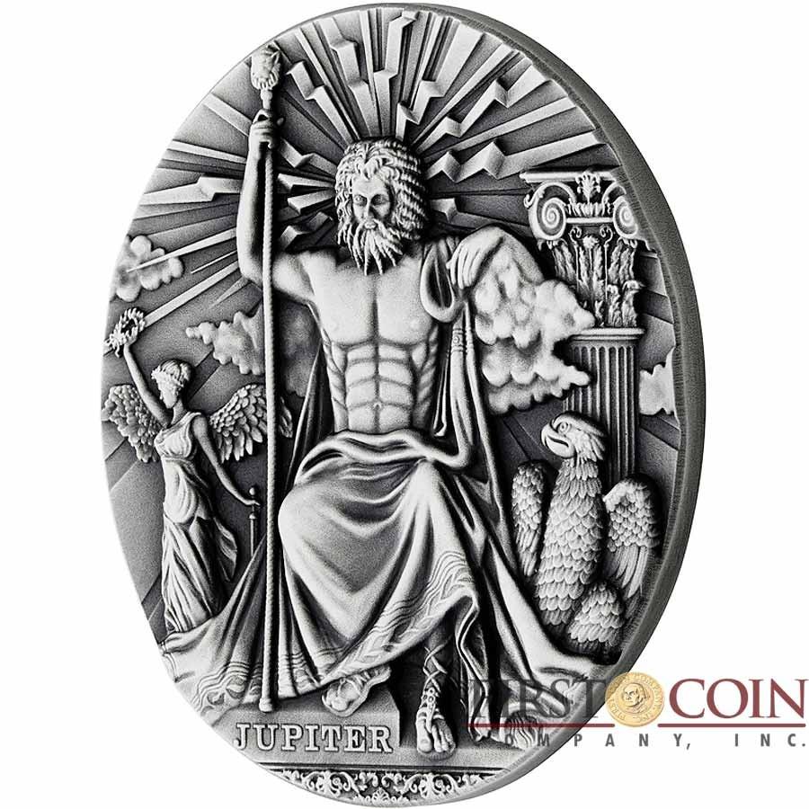 niue island jupiter king of the gods series roman gods