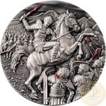 Niue Island SPARTACUS WAR - SLAVE REVOLT series GREAT COMMANDERS Silver Coin $5 Antique finish 2017 Ultra High Relief 2 oz